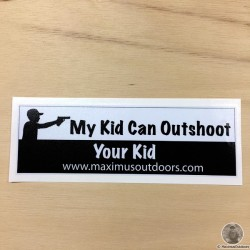 Official Maximus Outdoors Decal